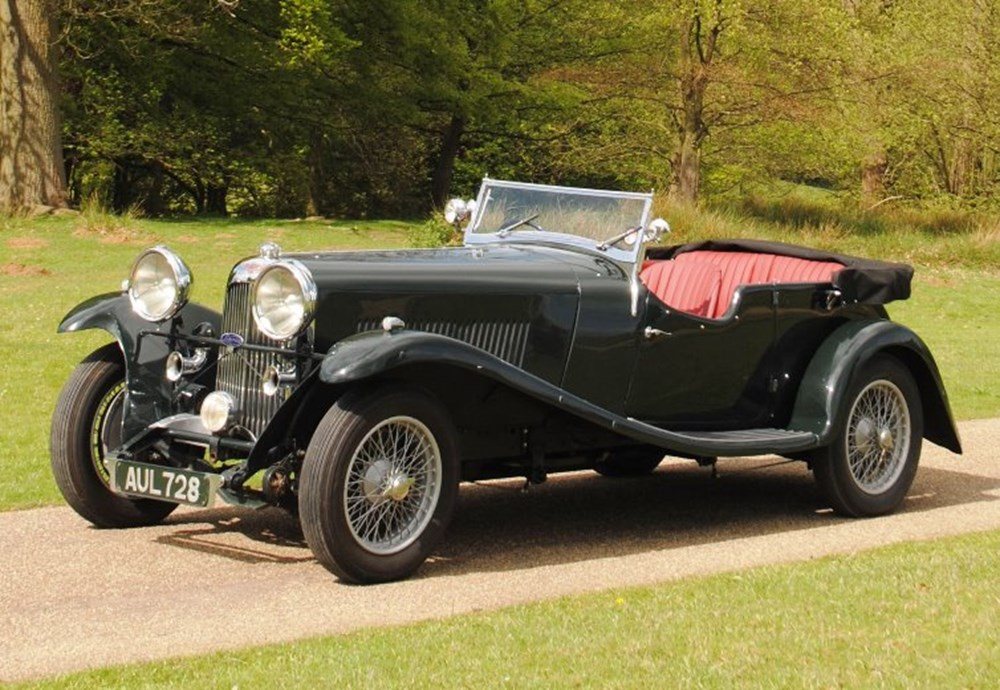 Lot 223 - 1933 Lagonda Ref 172 1933 Lagonda Three Litre