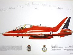 Navigate to A Red arrows print