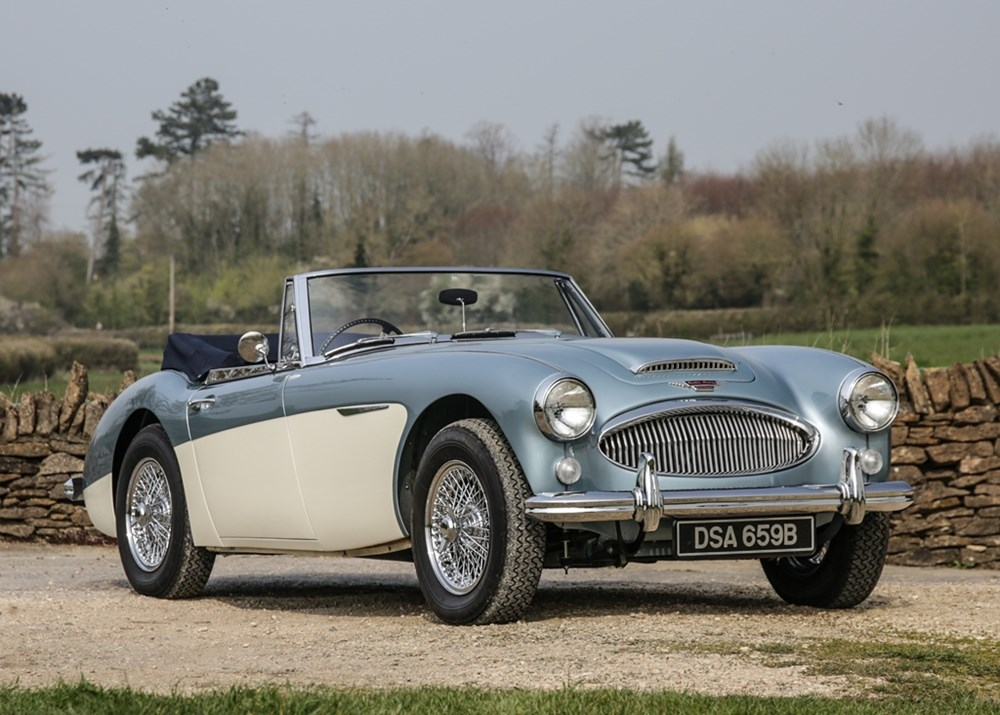 Lot 210 - 1964 Austin Healey 3000 Mk. III BJ8 Phase II