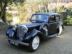 Navigate to Lot 266 - 1937 Jaguar SS 1½ litre Saloon