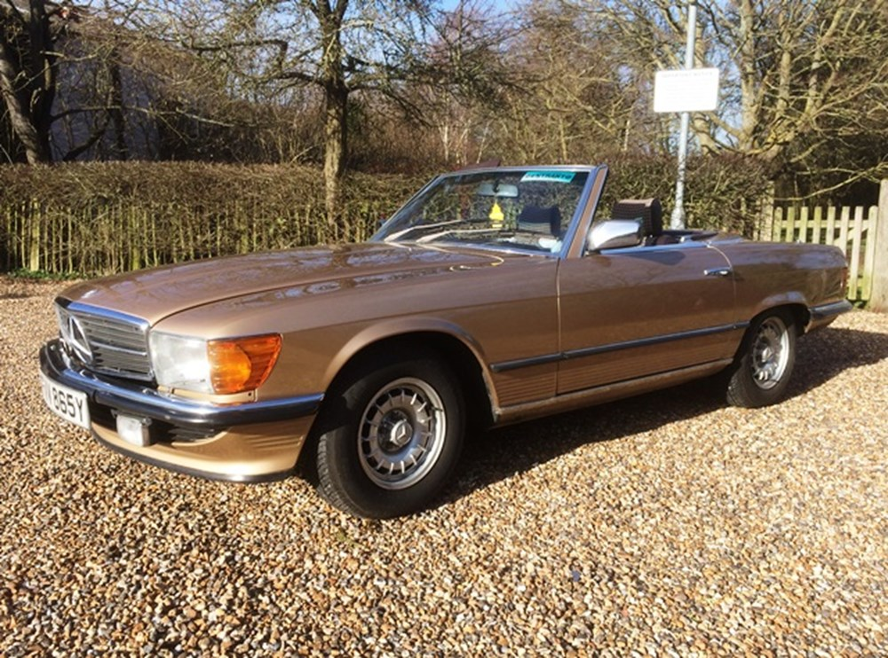 Lot 293 - 1983 12987 500SL Roadster
