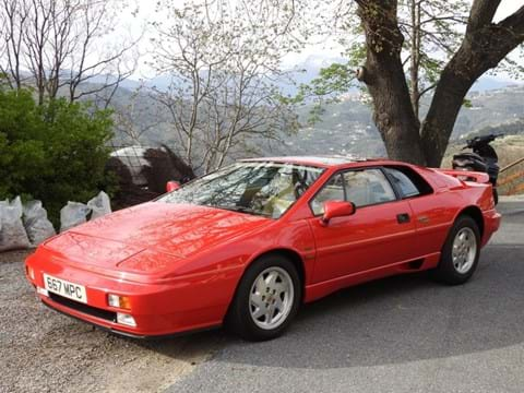 Ref 2 1989 Lotus Esprit Turbo