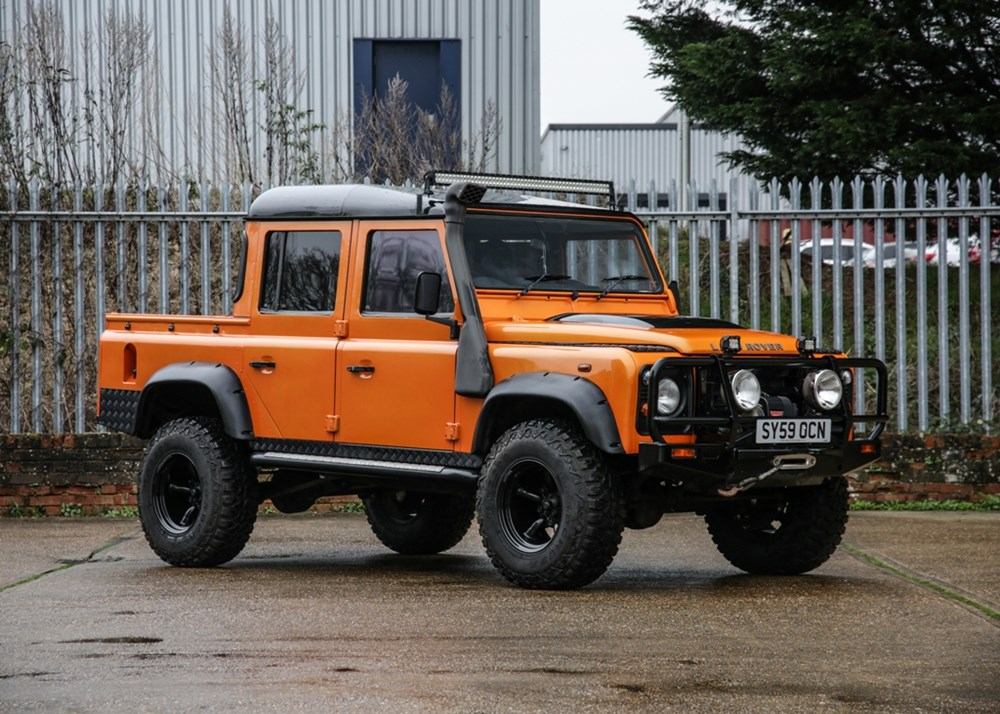 Lot 142 - 2009  Land Rover Defender 110 Double Cab Pick-up