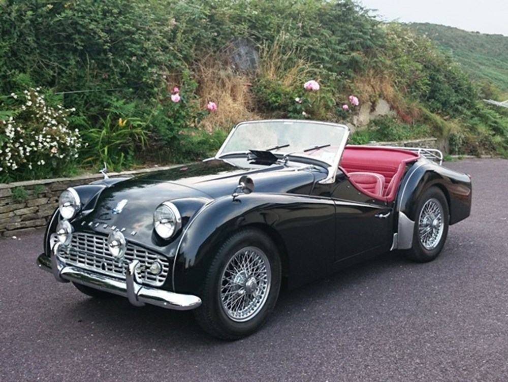1962 triumph tr3a specialist classic sports car auctioneers. Black Bedroom Furniture Sets. Home Design Ideas