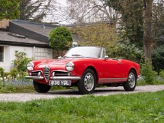 Navigate to Lot 166 - 1960 Alfa Romeo Giulietta Spider
