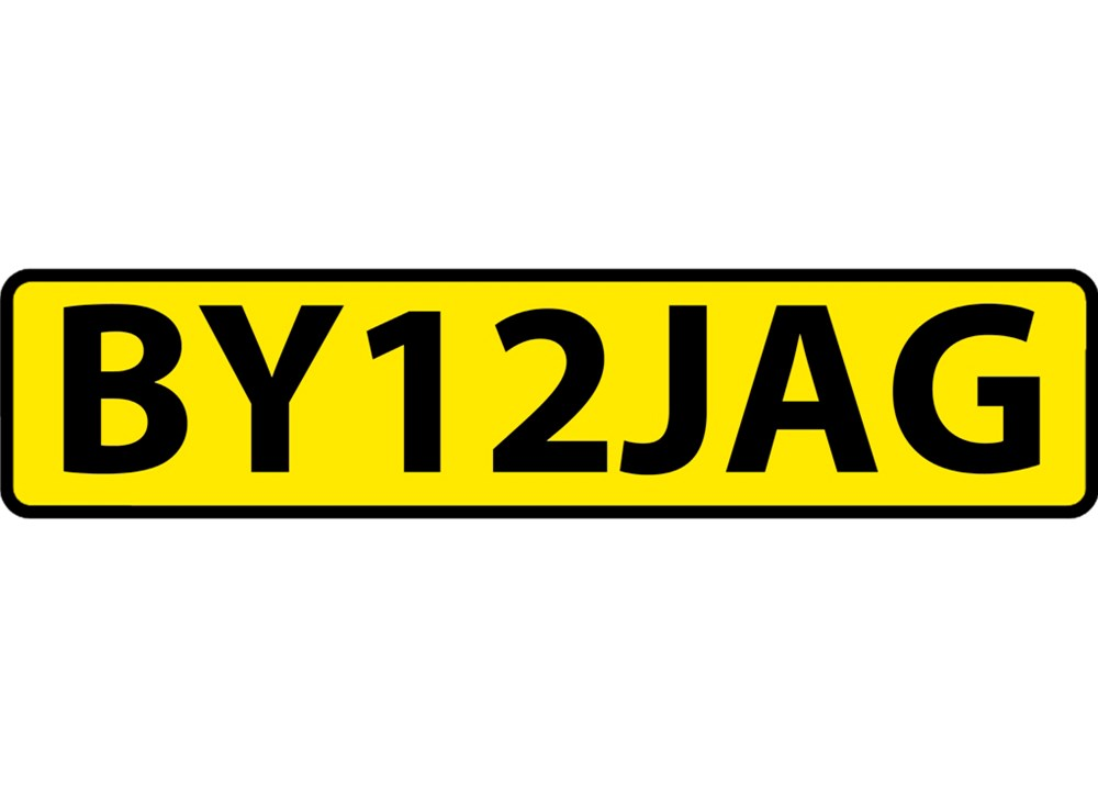 Lot 115 - Number plate.