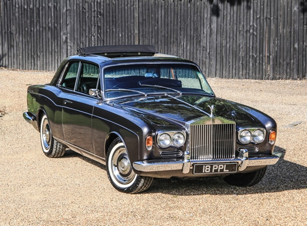 Lot 194 - 1969 Rolls-Royce Two-Door Fixedhead Coupé by Mulliner Park Ward