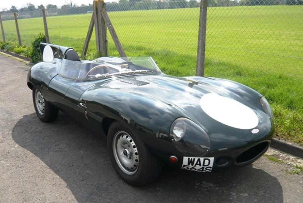 Lot 341 - 1977 Jaguar D-Type 'Long Nose' by RAM