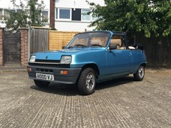 Navigate to Lot 129 - 1983 Renault 5TX Cleveland Convertible