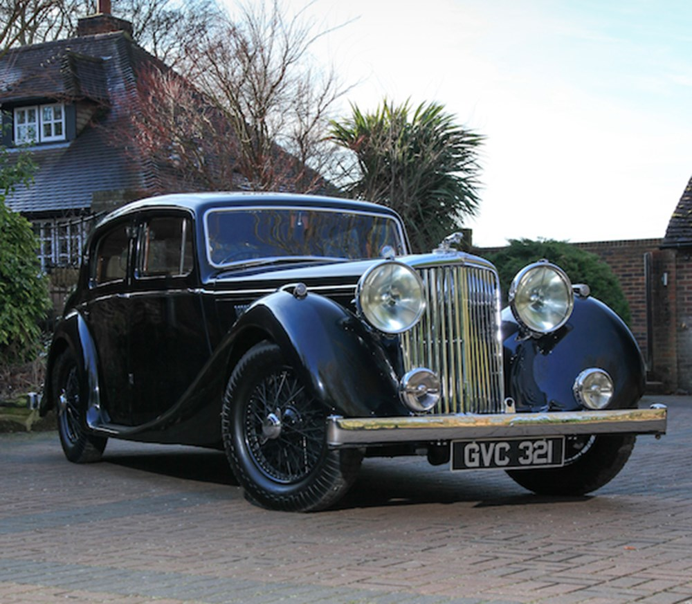 Lot 203 - 1948  Jaguar Mk. IV Saloon (3.5 Litre)