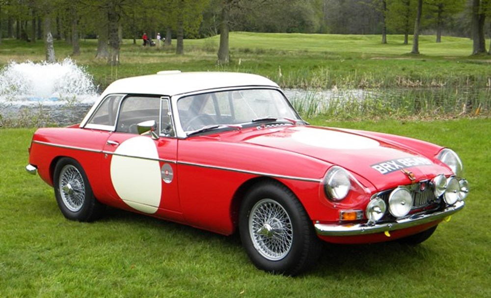 1964 MGB Roadster Works - Classic & Sports Car Auctioneers