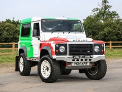 Navigate to Lot 251 - 2014 Land Rover Defender 90 Hardtop by Bowler
