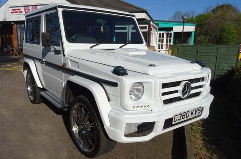 Lot 220 - 1986 Mercedes-Benz 280 GE G-Wagon