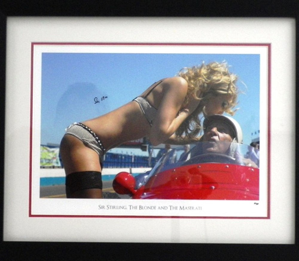Lot 99 - Sir Stirling Moss photo
