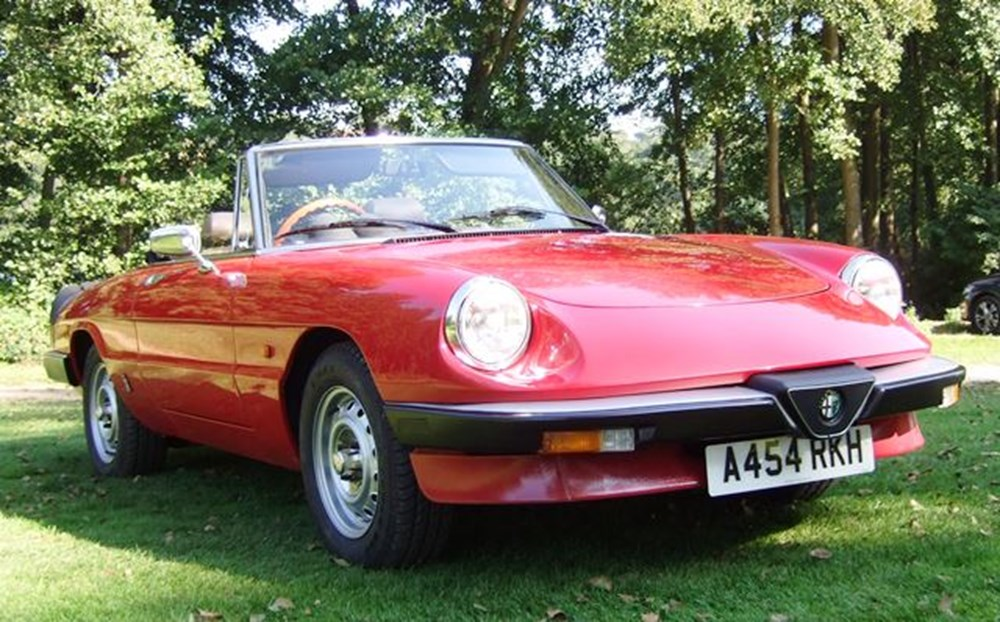 Lot 251 - 1984 Alfa Romeo 2000 Series III Spider