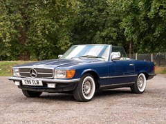 Navigate to Lot 128 - 1985 Mercedes-Benz 280 SL Roadster
