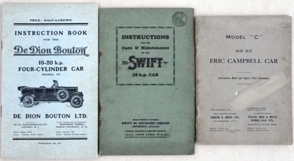Lot 044 - Three early instruction books