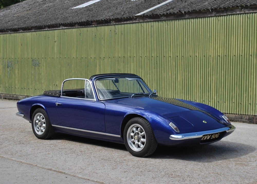 Lot 194 - 1969 Lotus Elan Plus 2 Convertible