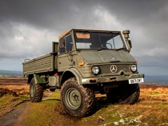 Navigate to Lot 127 - 1986 Mercedes-Benz Unimog U1100