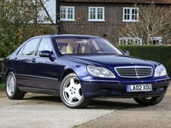 Navigate to Lot 214 - 2002 Mercedes-Benz S400