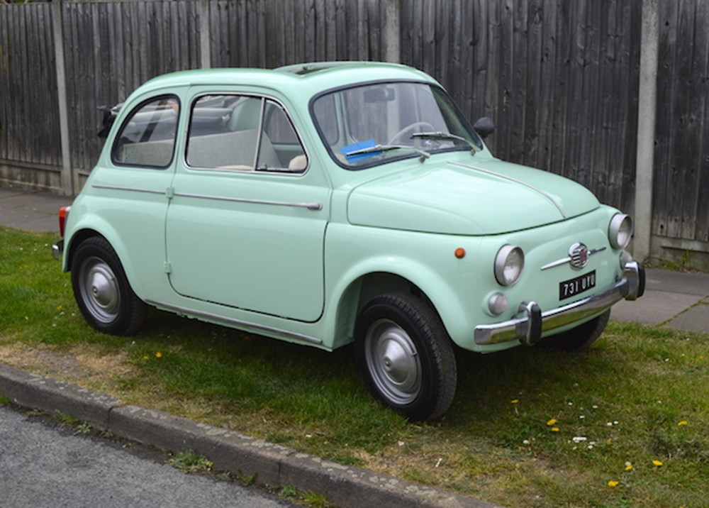 Ref 109 1960 Fiat 500D - Clic & Sports Car Auctioneers
