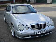 Navigate to Lot 242 - 2002 Mercedes-Benz E55 AMG