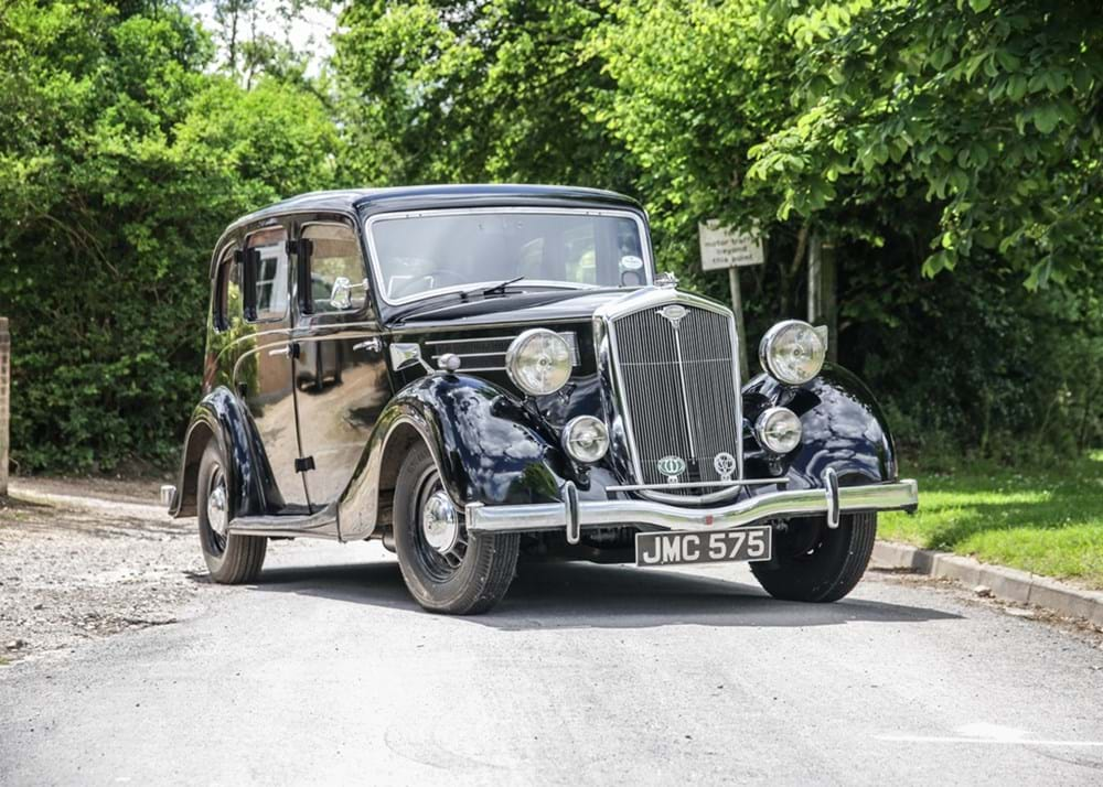 Lot 112 - 1938 Wolseley Super Six (21hp)