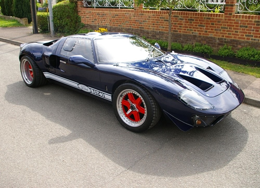 Lot 379 - 1996 Ford GT40 Recreation by Tornado