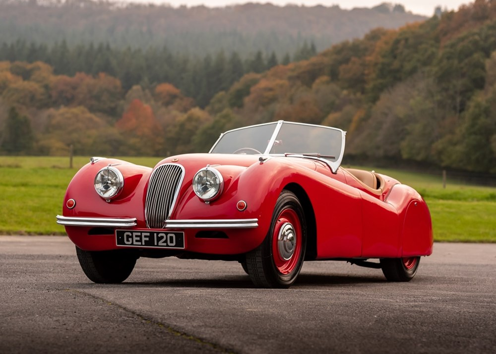 Lot 154 - 1950 Jaguar XK120 Roadster (3.4 litre)
