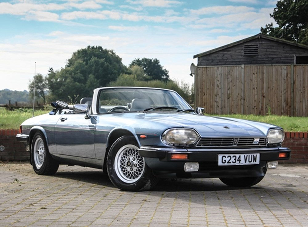 Lot 228 - 1990 Jaguar XJS Convertible