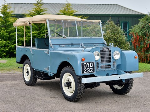 Ref 121 1953 Land Rover Series 1 80 inch