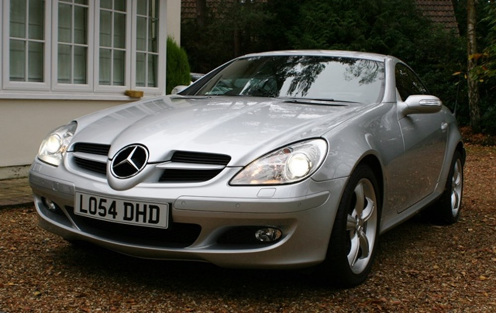 Lot 234 - 2004   Mercedes-Benz SLK 350