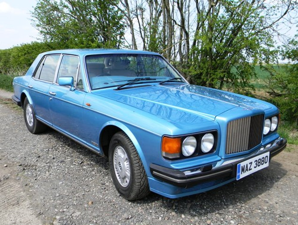 Lot 335 - 1989 Bentley Mulsanne S