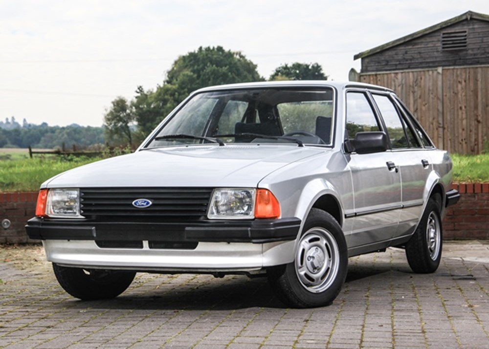 Best Buy Private Auction >> REF 81 1985 Ford Escort GL (1.3 litre)