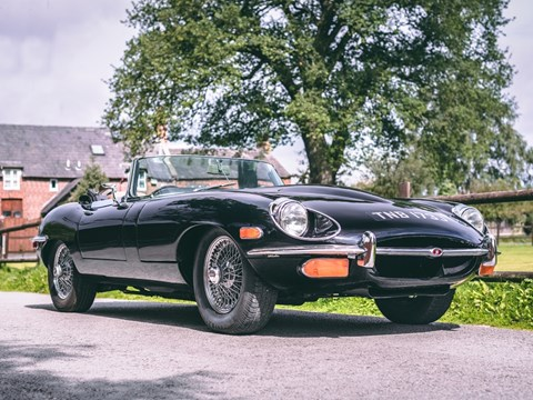 Ref 39 1971 Jaguar E-Type Series II Roadster