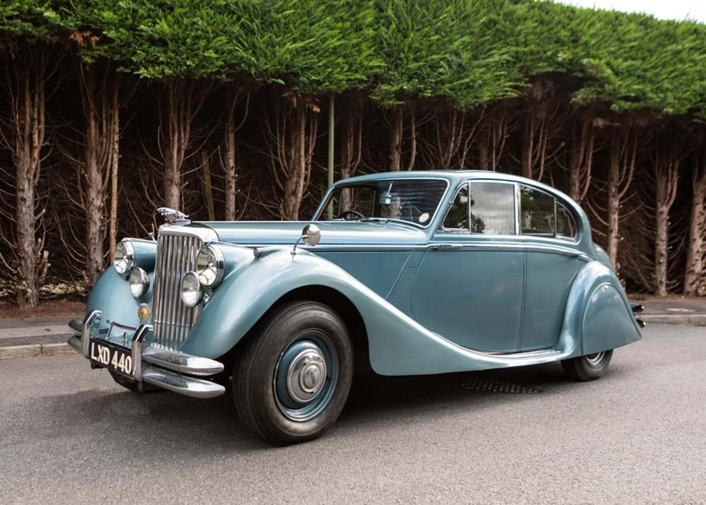 Ref 97 1950 Jaguar Mk. V DG - Classic & Sports Car Auctioneers