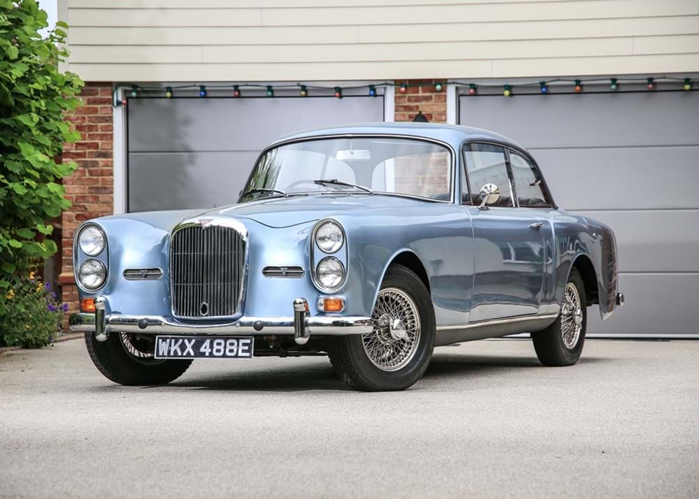 Lot 156 - 1967 Alvis TF Saloon