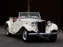Ref 79 1952 MG TD Sports Convertible