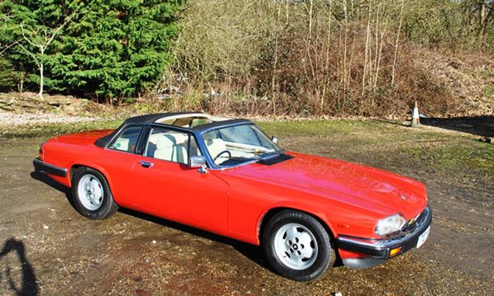 Lot 124 - 1985 Jaguar XJ-S Cabriolet