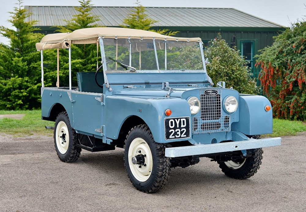 "Lot 218 - 1953 Land Rover Series 1 (80"")"