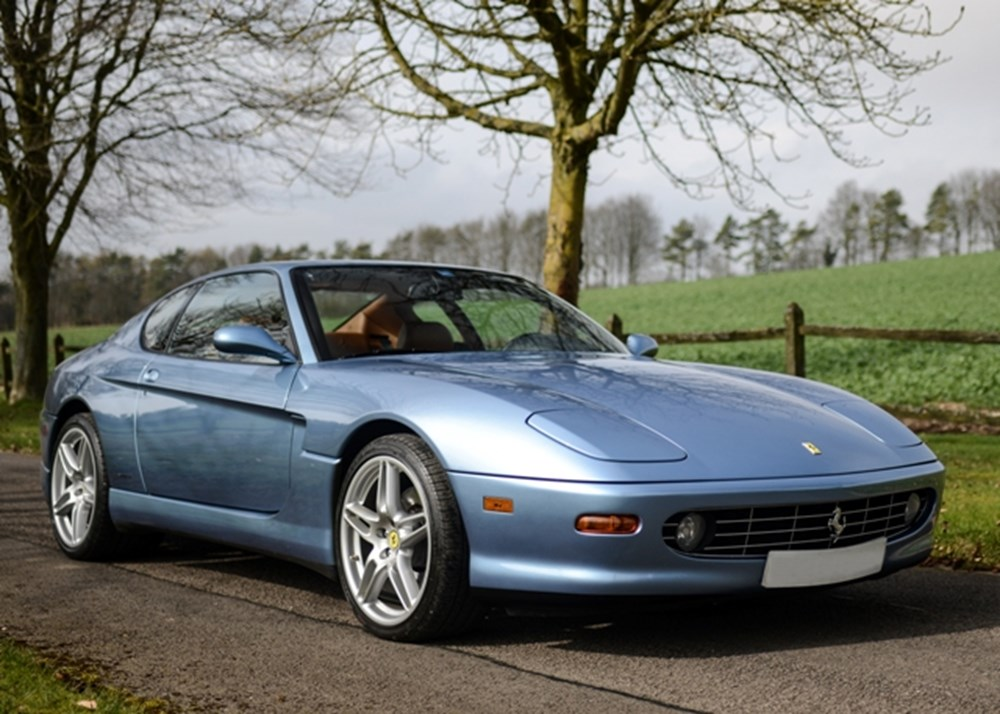 ref 154 2000 ferrari 456m gt classic sports car auctioneers. Black Bedroom Furniture Sets. Home Design Ideas