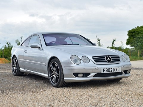 Ref 111 2002 Mercedes Benz CL 55 AMG