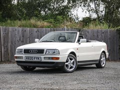 Navigate to Lot 217 - 1993 Audi 80 Cabriolet