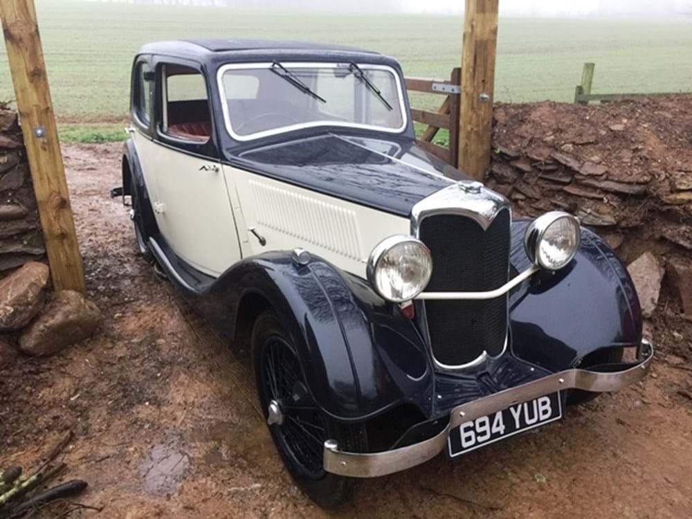 Ref 107 1936 Riley Nine Merlin