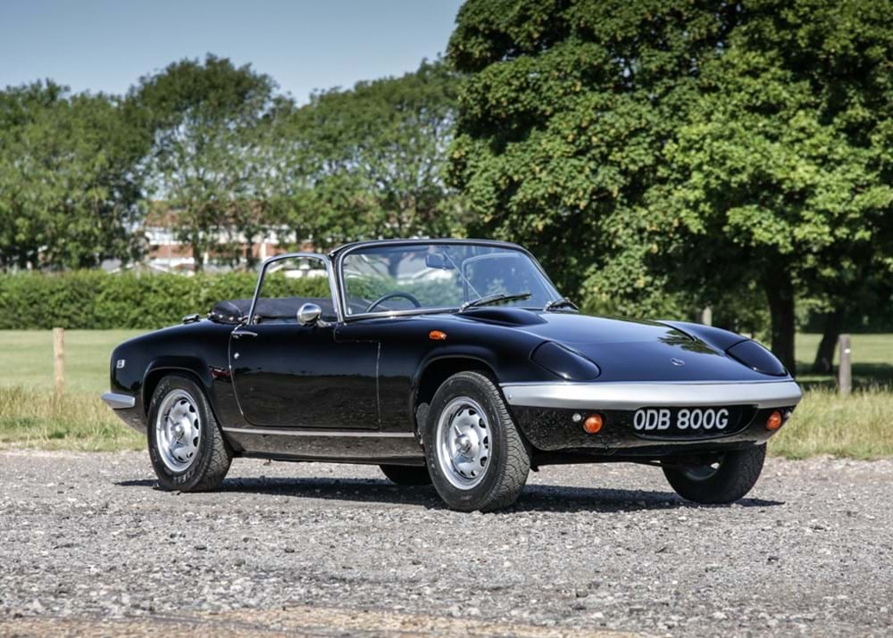 Lot 248 - 1969 Lotus Elan 4SE Drophead Coupé