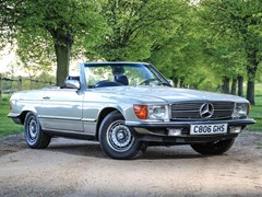 Navigate to Lot 197 - 1985 Mercedes-Benz 500 SL Roadster