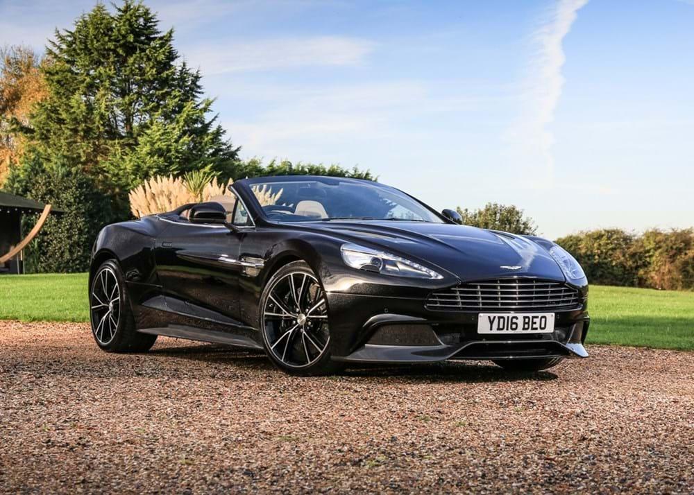Ref Aston Martin Vanquish Volante - Aston martin vanquish volante