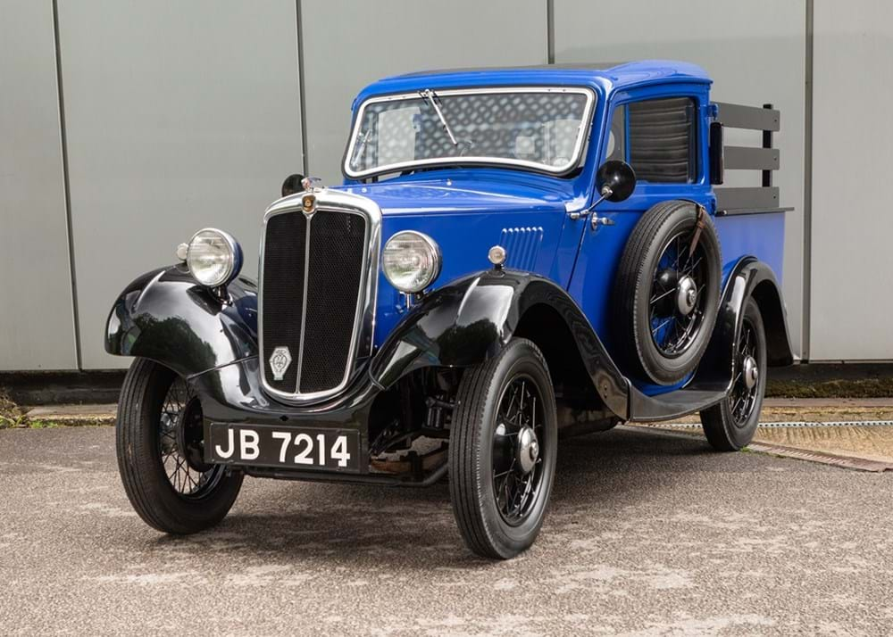 Lot 260 - 1935 Morris Eight Pick-up
