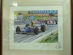 Navigate to Damon Hill print