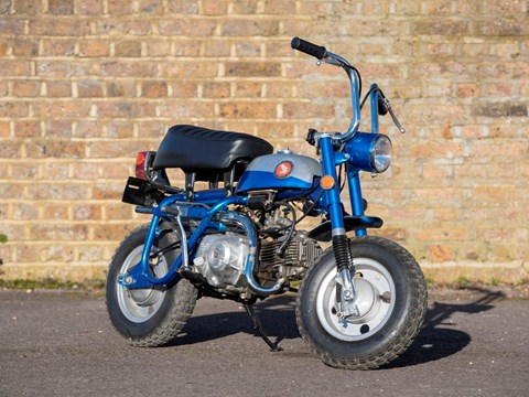 Ref 102 1969 Honda Z50A K1 Short Tail Monkey Bike